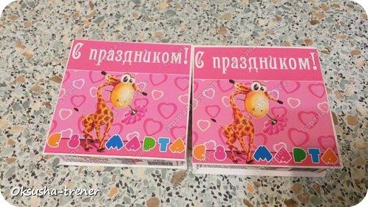 Шоколадные коробочки на 8 Марта ヅ фото 8