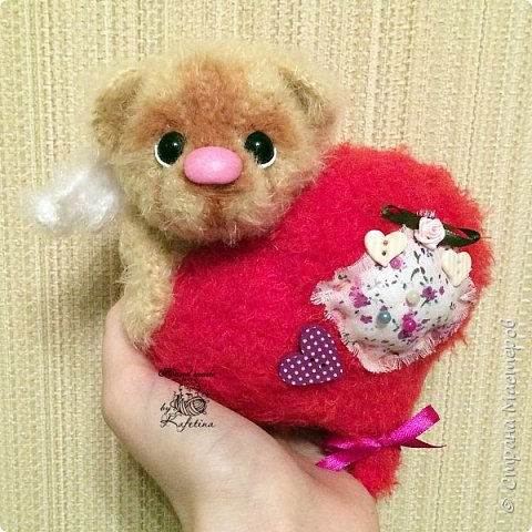 Валентинки - мишутки 2016 года. фото 3