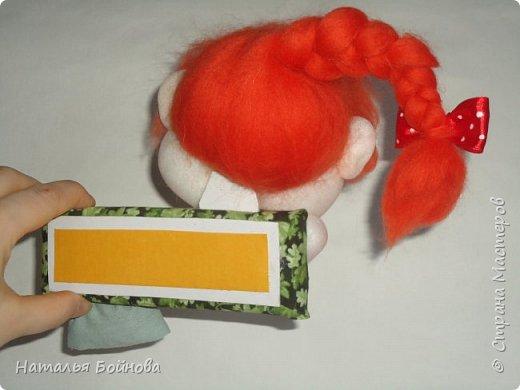 Вот такая рыжуха у меня получилась по идее Е.Лаврентьевой фото 3