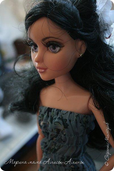 На новогодних каникулах чуть-чуть пошила. Ночнушка для Алисы.Красивая фланелька!В рисунок влюбилась! фото 7
