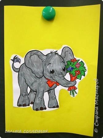 Здравствуйте. Скоро 8 марта. Можно сделать с детьми открытку-подарок. фото 4