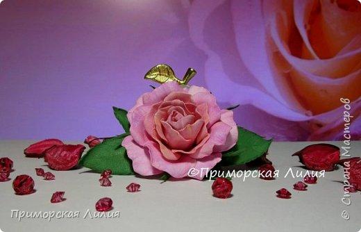 Вот такое украшение к весне. Тонировала масляной пастелью. Диаметр цветка 6см, общая длинна 11см. фото 2