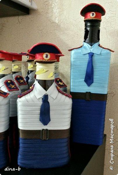 Вот такой заказ был у меня ко Дню Защитника Отечества! 11 шт. -сотрудники УФСИН, 1-милиционер, и 1 -МЧС-ник ! фото 3