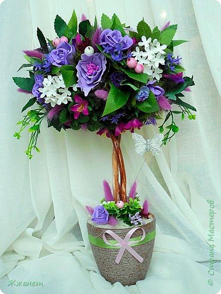 Цветы из фоамирана ручная работа. фото 1