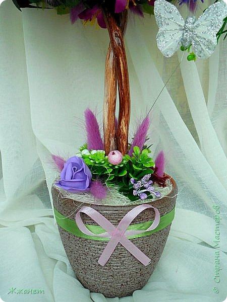 Цветы из фоамирана ручная работа. фото 5