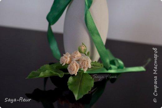 Здравствуйте, хотела бы показать свою работу, мои любимые розочки, стараюсь сделать соотношение качества и доступности, цветы пахнут настоящими розами. Сделаны из полимерной глины. фото 12