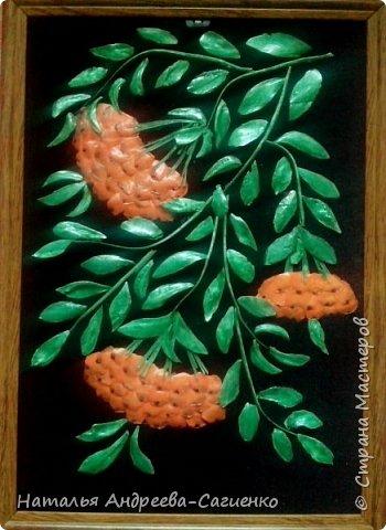 Картины из рыбьих костей и чешуи фото 8