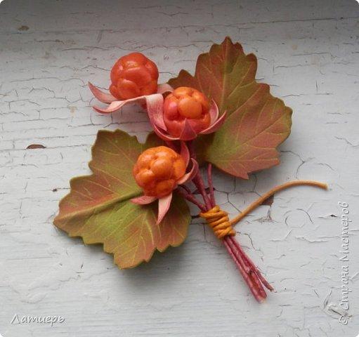 Сегодня я покажу вам не совсем обычный способ изготовления ягод. Надеюсь, что он кому-нибудь пригодится или сподвигнет на новые свершения, и таким способом вы попробуете сделать не только морошку, но и , например, малину или ежевику)) фото 18