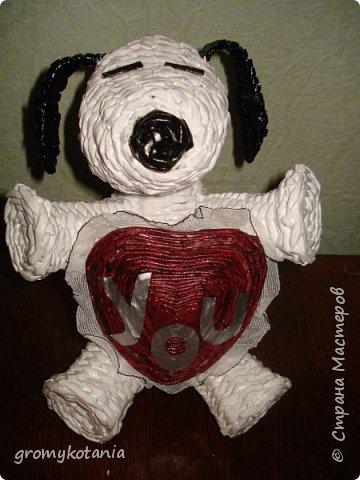 пасхальный заяц и собачка-валентинка фото 3