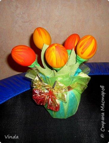 Вот такие тюльпанчики получились из яиц :-)) фото 2