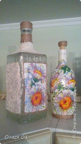 Бутылки из яичной скорлупы. фото 1
