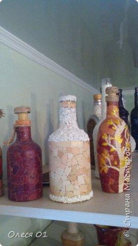 Бутылки из яичной скорлупы. фото 6