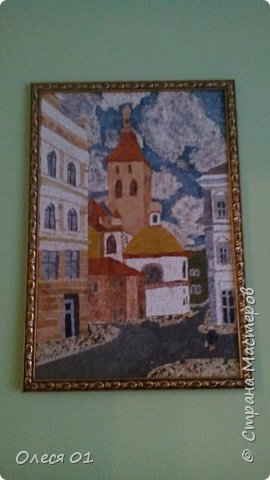 Картины из яичной скорлупы. фото 2