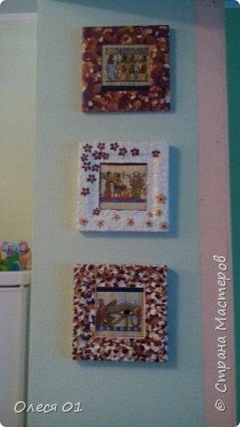 Картины из яичной скорлупы. фото 3