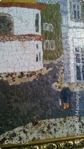 Картины из яичной скорлупы. фото 5