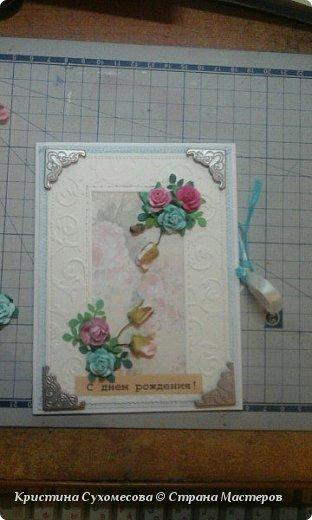 Скрапбукинг открытки  фото 3
