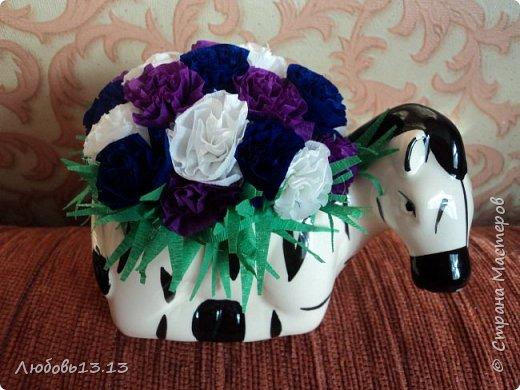 Цветочки в горшочках фото 2