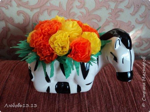 Цветочки в горшочках фото 1