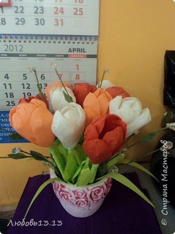 Цветочки в горшочках фото 4