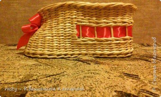 Разноцветных остатков как раз хватило такую фантазийную корзину : фото 5
