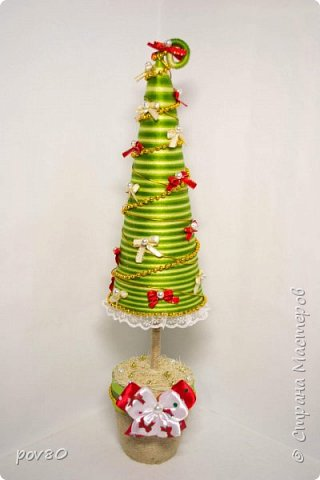 """Очень много красивых елок в """"Стране мастеров"""". И я решила сделать что то интересное. фото 3"""