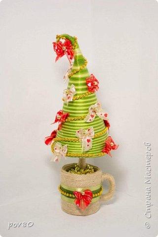 """Очень много красивых елок в """"Стране мастеров"""". И я решила сделать что то интересное. фото 4"""