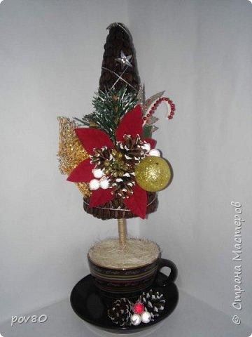 """Очень много красивых елок в """"Стране мастеров"""". И я решила сделать что то интересное. фото 6"""