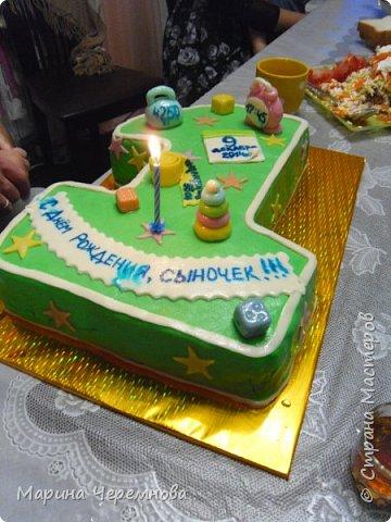Самый первый тортик для любимой мамочки на день её рождения!!! фото 3