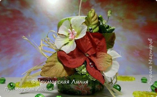 Белая обычная свеча превращается в яркий элемент декора и неповторимый, романтичный подарок))) Всё довольно просто и быстро. фото 5