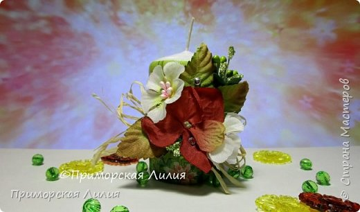 Белая обычная свеча превращается в яркий элемент декора и неповторимый, романтичный подарок))) Всё довольно просто и быстро. фото 1