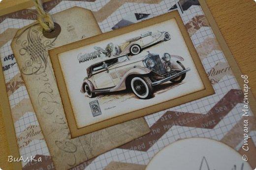 Вот такие открытки получились у меня к предстоящему празднику мужчин.) фото 8