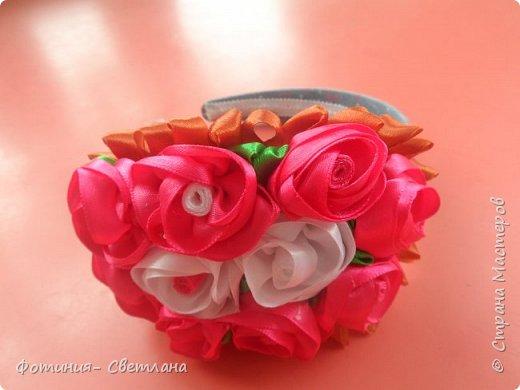 Ободочек, композиция из роз фото 2