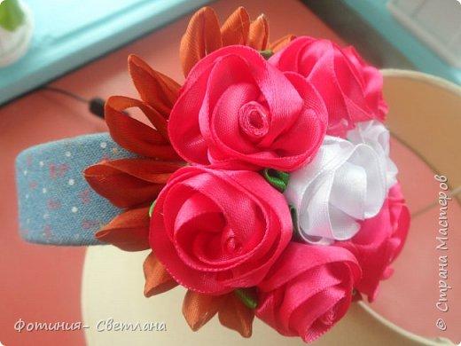 Ободочек, композиция из роз фото 1