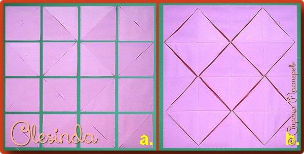 Здравствуйте! Многие мастерицы лоскутного шитья знакомы с техникой пэчворк «Кафедральные окна» или, как ее еще называют, «Витражные окна», «Домский витраж», «Готические окна», «Церковные окна» и «Магический квадрат». Также как и названий, существует несколько способов создания такого блока. В этом мастер-классе я покажу 5 из них. (Все приведенные ниже приемы придуманы не мной, я лишь собрала их для вас в одном посте.) фото 5