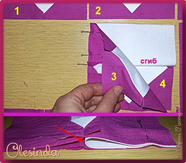Здравствуйте! Многие мастерицы лоскутного шитья знакомы с техникой пэчворк «Кафедральные окна» или, как ее еще называют, «Витражные окна», «Домский витраж», «Готические окна», «Церковные окна» и «Магический квадрат». Также как и названий, существует несколько способов создания такого блока. В этом мастер-классе я покажу 5 из них.  (Все приведенные ниже приемы придуманы не мной, я лишь собрала их для вас в одном посте.) фото 54