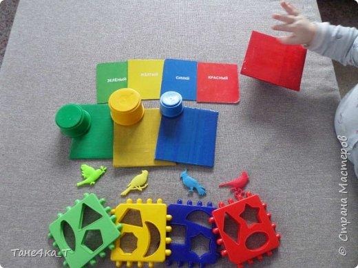 Для изучения сортировки можно найти всё что угодно, но иногда нет ничего под рукой определенного цвета. Карточки мы таскаем и мнем, поэтому сделала ему новые. Плотные, не жалко, пусть таскает. фото 4