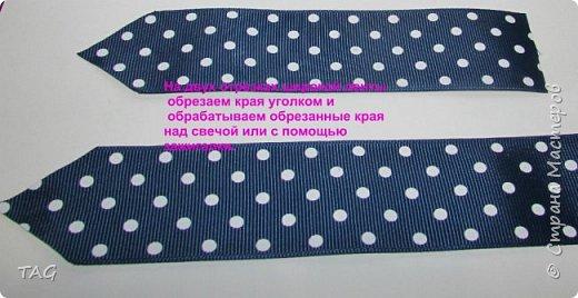 Здравствуйте! Сегодня покажу, как делаю галстуки для мальчиков, очень надеюсь, что кому-нибудь пригодится мой мини-МК:) фото 3