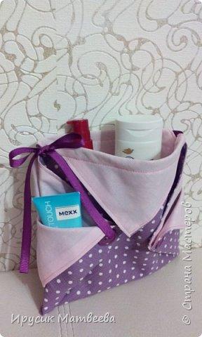 Вот такая корзинка-мешочек у меня получилась..можно использовать и как косметичку,т.к.есть завязки...и как подарочную упаковку... фото 13
