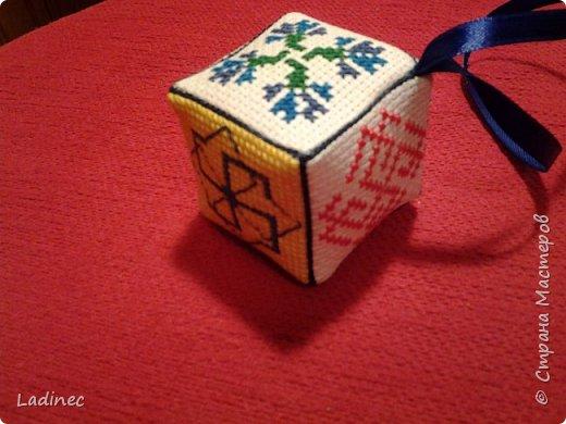 Оберег- кубик женский для здоровья. фото 1