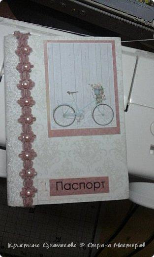Скрап обложки на паспорт  фото 4