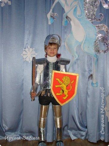 Новогодний костюм для сына.