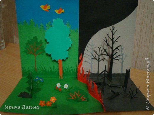"""Поделка в рамках акции """"Спасти и сохранить"""" фото 1"""
