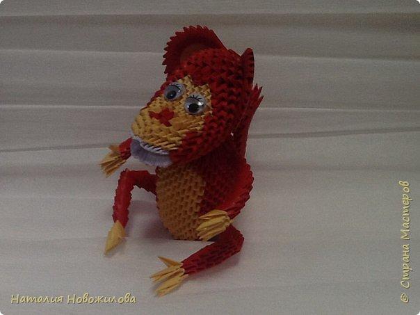 Вот наконец выложила свою модульную обезьянку. Спасибо за МК Юсовой Татьяне http://stranamasterov.ru/node/952518?c=favorite  фото 3
