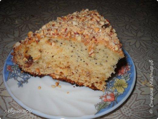 у нас уже традиция на День Святого Валентина печь кекс в форме сердца... на этот раз кекс был с орешками, шоколадом и маком....вкуснятина.. фото 2