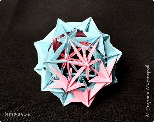 Chrysanthemum by Leroy МК http://stranamasterov.ru/node/93470 30 модулей 7 х 7 см. Размер около 9,5 см. фото 21