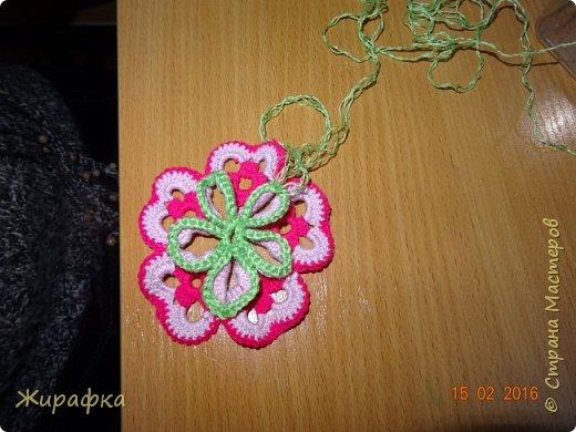 Вяжем цветок-интригу... фото 10
