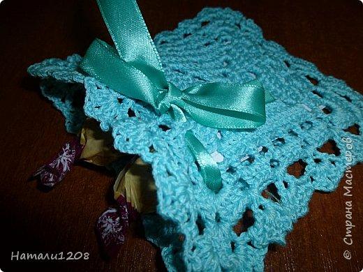 Мешочки вязаные  для подарков. фото 2