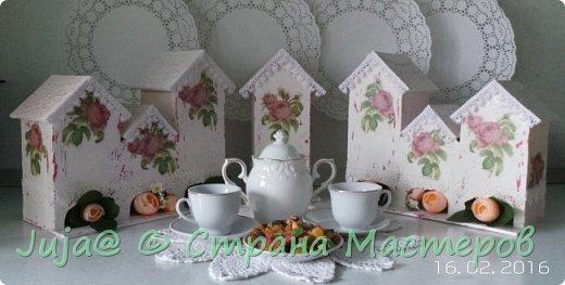 Чайный домик. Розовый шеби-шик фото 3