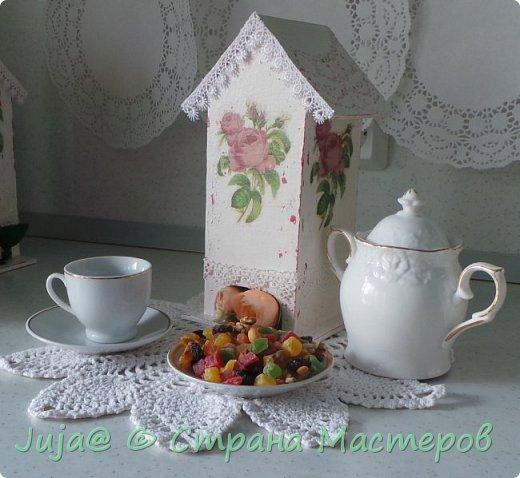 Чайный домик. Розовый шеби-шик фото 2