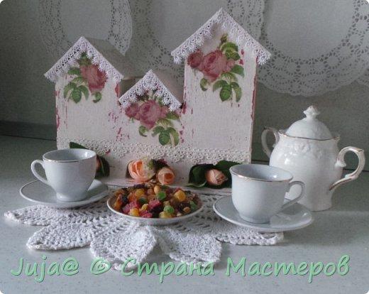 Чайный домик. Розовый шеби-шик фото 1